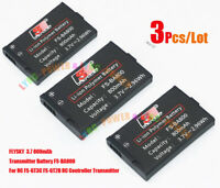 3pcs/Lot FLYSKY Battery 3.7V 800mAh FS -BA800 For GT3C GT2B RC Radio Transmitter