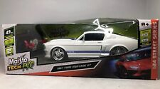Maisto 1/24 Scale 40MHz Radio Control Car 81061 - 1967 Ford Mustang GT White