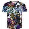 New Fashion Womens/Mens YuGiOh Monster Funny 3D Print Casual T-Shirt