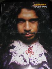 Kerrang double sided folded poster: Tom Araya, Slayer / Jeff Waters,  Annhilator