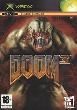 DOOM 3 for Xbox - with box & manual - PAL