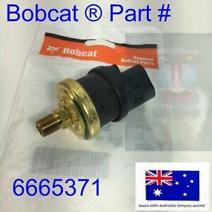 Bobcat Air Filter Sensor Vacuum Switch 6665371 T740 T750 T770 T870 OEM