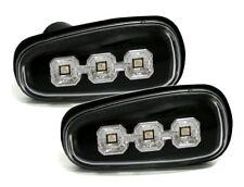 Für Opel Astra G Zafira A Klarglas Schwarz LED Seitenblinker Blinker Leuchten