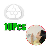 10Pcs Staffa 3D per adulti per maschera per il viso Telaio di supporto interno
