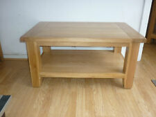 VANCOUVER PETITE SOLID OAK RECTANGULAR COFFEE TABLE NB008 91.5CM X 61.5CM