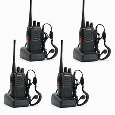 4 x Baofeng Bf-888S Uhf 400-470Mhz 5W 16Ch Ham Two Way Radio Walkie Talkie