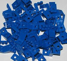 Lego Lot of 50 Blue Brackets 5 x 2 x 2 1/3 with 2 Holes and Bottom Stud Holder