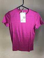ICEBREAKER Merino Wool Women's Oasis 200 T-Shirt Crew - PINK - SMALL - NWT