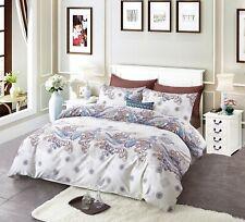 Victoria's Rose 100% Cotton Printing Duvet Cover Set, 3 Pcs (Q/K) Su