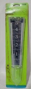 Acu-Rite 6-Inch Capacity Easy-Read Magnifying Rain Gauge~079325