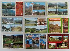 9 x Tschechien, CSSR. Tschechoslowakei Lot Postcards ungelaufen Mehrbildkarten