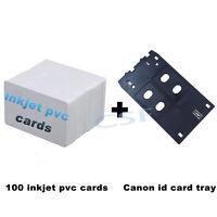 Inkjet PVC Ausweis Starter Kit MG7120 MG5420 Canon J Tray iP7230 MX922