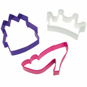Princess Cookie Cutter Set 3 pc from Wilton  0915