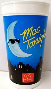 VERY HARD TO FIND, McDonald's MAC TONIGHT 32 Ounce Plastic Cup - BRAND NEW!!