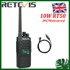 Digital DMR Walkie Talkies Retevis RT50 10W UHF IP67 Waterproof Two way radio