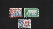 GILBERT & ELLICE SG52/4, 2/- TO 5/- FINE USED, CAT £38