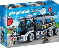 Playmobil 9360 | SEK-Truck mit Licht und Sound | Playmobil City Action Spielset