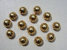 200 pc. Nailhead, Studs 9.5mm domed gold tone