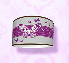 """Kinderzimmer Lampenschirm """"Butterfly Deluxe"""" KL17 Einsatz als Steh-/Deckenlampe"""