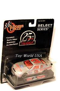Winner's Circle 25TH ANNIVERSARY SELECT SERIES Dale Earnhardt #3 Chevrolet