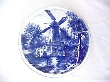 Antique Villeroy & Boch Wallerfangen Blue White Footed Trivet Rare