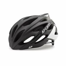 Giro Savant Cycling Helmet (Matte Black/White / Medium Size)