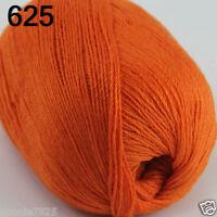 NEW Luxurious Soft 50g Mongolian Pure 100% Cashmere Hand Knitting Wool Yarn 625
