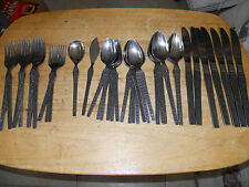 UNF8 PATTERN STAINLESS JAPAN UNKNOWN MAKER FLATWARE PIECES