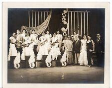 50s Original Cuban Sepia Photo All Female Orchestra LAS ANACAONAS Habana