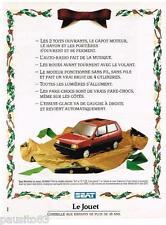 PUBLICITE ADVERTISING 095  1988  SEAT MARABELLA le JOUET