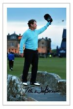 TOM WATSON THE OPEN 2015 GOLF SIGNED AUTOGRAPH PHOTO PRINT