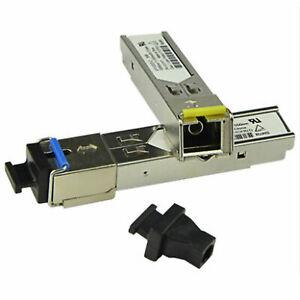 2Pcs SC Connector 3km 1.25GB/s SFP-BX03-D Tx1550nm/RX1310nm Transceiver Module