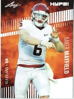 Baker Mayfield 2018 Leaf HYPE! Football Rookie 25 Card Lot Cleveland Browns #3