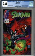 Spawn #1 CGC 9.8 NM/MT 1st Appearance of Spawn (Al Simmons) WHITE PAGES