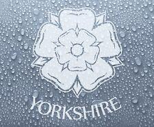Yorkshire County rose (SML) Autocollant Vinyle Autocollant Graphique #1 - DEC1038