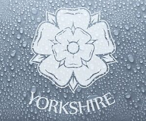 Yorkshire county rose (sml) vinyl decal sticker graphic #1 - DEC1038