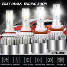 Car LED Headlight Kit H11 9005 HB3 Bulbs For Toyota Prius 2015-2012 Hi/Lo Beam