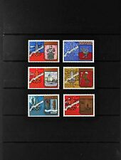 USSR RUSSIA STAMP. MNH-OG. Complet-6 timbres Olympiade 1980. Tourisme. SG 1817.