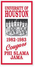 Houston Cougars Phi Slama Jama Banner