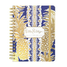 LILLY PULITZER - 2017-2018 Agenda - 17 month Planner - Navy Pineapple- Large