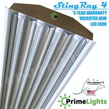 4 Lamp LED Shop Garage Utility Light BRIGHT 18,000 Delivered Lumens 88 Watt NEW