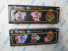 Movie Macross Frontier F Ichiban Kuji Prize D Pin Set Full Set Banpresto Japan