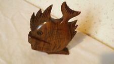 Sujet, Figurine représentant un poisson 8,5 cm de long par 10,5 cm de haut