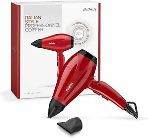 BaByliss 6615E Dryer Of Hair Professional 2400 W Motor AC Ionic 2 Speed