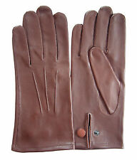 Men's Faux Leather Driving Gloves