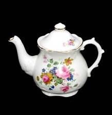 Vintage English Price Kensington pink roses pretty teapot