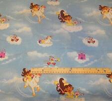 "Dora the Explorer with Boots Princess Theme Cotton Fabric 44"" x 3 yards"