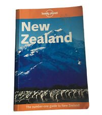 Lonely Planet New Zealand 11th Edition Paperback 2002 Travel Guide Travelling