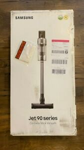 New Sealed Samsung Jet 90 Complete Cordless Stick Vacuum + Dual Charging Station