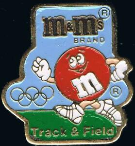 1992 Barcelona M&Ms Track & Field Olympic Sponsor Sports Pin
